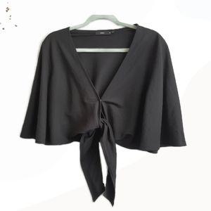 Sportsgirl Tie Front Top - Size M